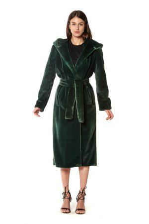 vestaglia eco verde+cappuccio 2