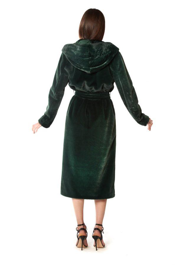 vestaglia eco verde+cappuccio 3