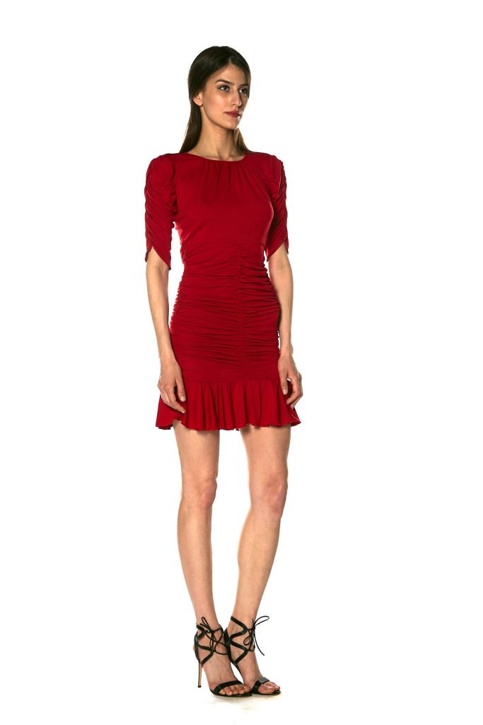 Silvia Jersey rosso