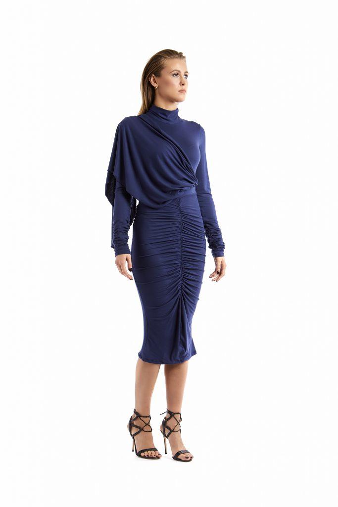Camilla jersey blu